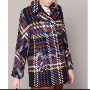 NWT Paul& Joe Kafka Wool Coat 42 $558